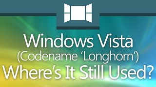 Where Is Windows Vista Still Being Used Today?