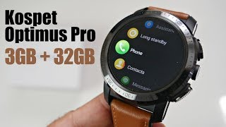 Kospet Optimus Pro Full Android Smartwatch - AMOLED - 3GB+32GB