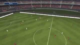 Pro Evolution Soccer 2015 - Playstation 4 - Gameplay 1 BR - Silent Games Locadora