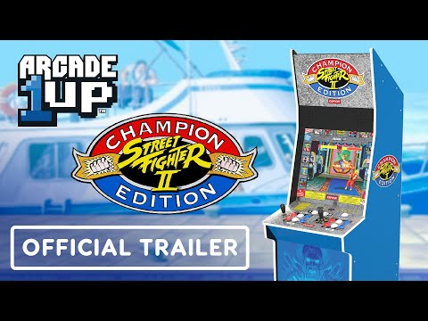 Arcade1up Street Fighter Big Blue Arcade Cabinet - Official Trailer | Summer of Gaming 2021 from IGN