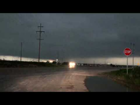 Storm Chase from North West Texas