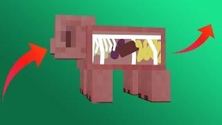 чТО ВНУТРИ У ЧЕЛОВЕКА В МАЙНКРАФТ ?! - БИТВА СТРОИТЕЛЕЙ #80 - Minecraft
