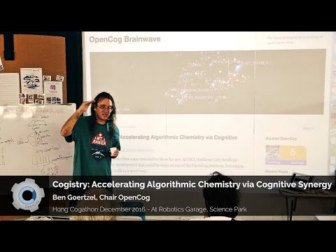 Cogistry: Accelerating Algorithmic Chemistry via Cognitive Synergy - Ben Goertzel