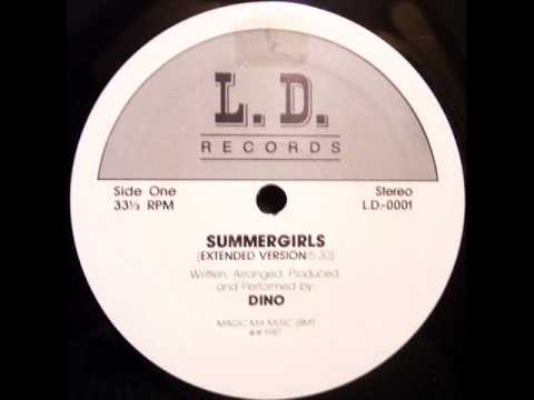 DINO  SUMMERGIRLS    EXTENDED VERSION