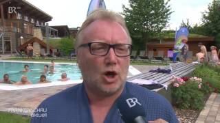 Sauna-Aufguss-Meisterschaft in Bad Staffelstein