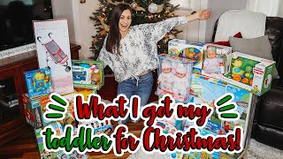 What I Got My Toddler Girl For Christmas 2019 | Toddler Christmas Toy Gift Guide