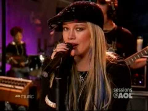 Hilary Duff - Fly - Live - Aol Sessions