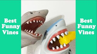 Funny Shark Puppet Funny Compilation 2020 (W/Titles) Best Shark Puppet Vine Videos