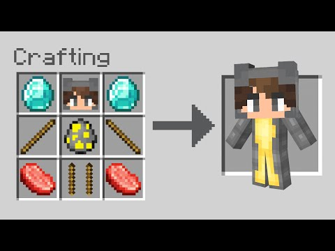 I Crafted A MINI TWIN In Minecraft...
