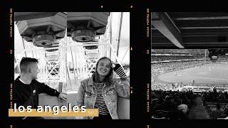 NAAR EEN LA DODGERS BASEBALL GAME ✰ LA vlogs 2/5   Fleur Assendelft