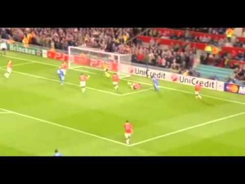 Nemanja Vidic vs Chelsea UCL 10/11 Home [HD]