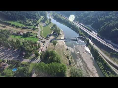 Myslenice from above 4K