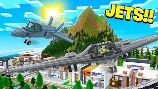 *NEW* WORKING JETS IN MINECRAFT!