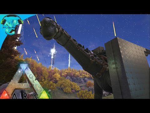Raiding the Server Admin with an Armored Titanosaur! ARK Survival Evolved - PvP Season E28