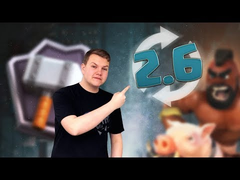 2.6 Hog Cycle Deck! 5,200+ LIVE Ladder Gameplay - Clash Royale