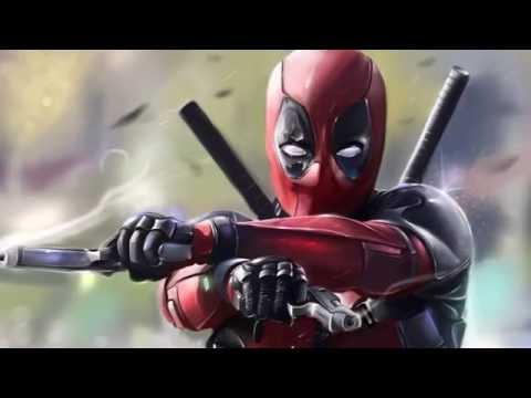 Where The Hood At Deadpool style