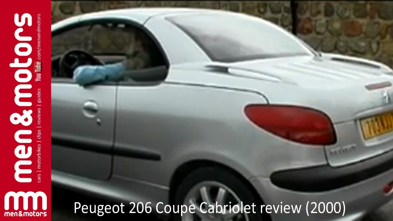 peugeot 206 cabriolet review 2000 youtube. Black Bedroom Furniture Sets. Home Design Ideas