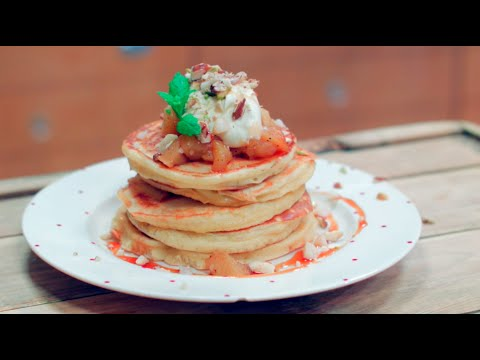 How to make american stack style pancakes youtube ccuart Image collections