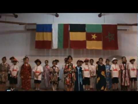 El Gouna International school International day we wawa song