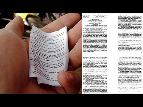 Cách in nhỏ tài liệu - In nhiều trang Word trong một tờ giấy   KKT