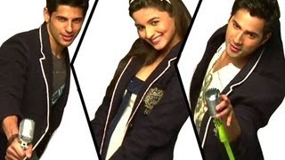 Making of (Student Of The Year) | Varun Dhawan, Sidharth Malhotra &  Alia Bhatt