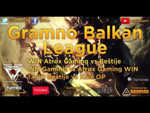 Gramno Balkan Liga - intervju Atrox Gaming 2