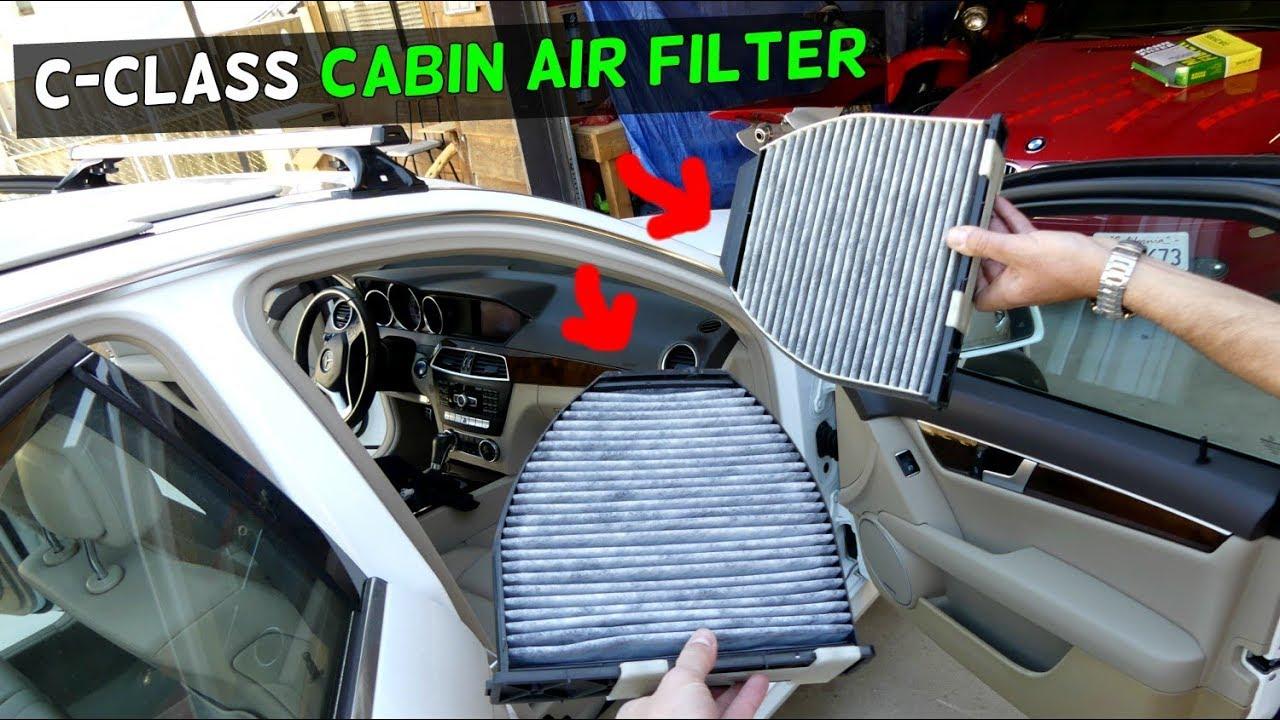 Mercedes C-Class W204 C200 CDi Genuine Fram Engine Air Filter Service