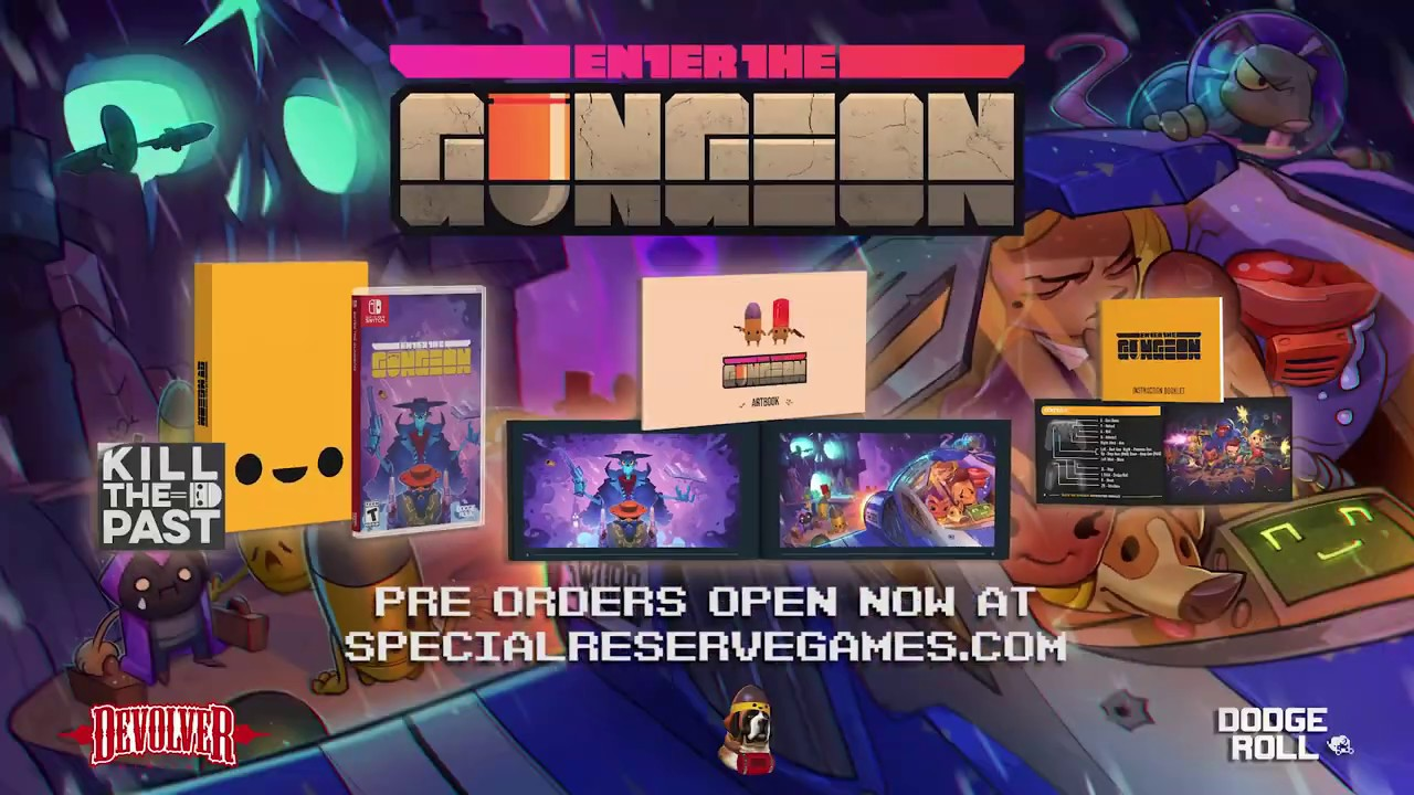 Special, physical release of Enter the Gungeon comes to the