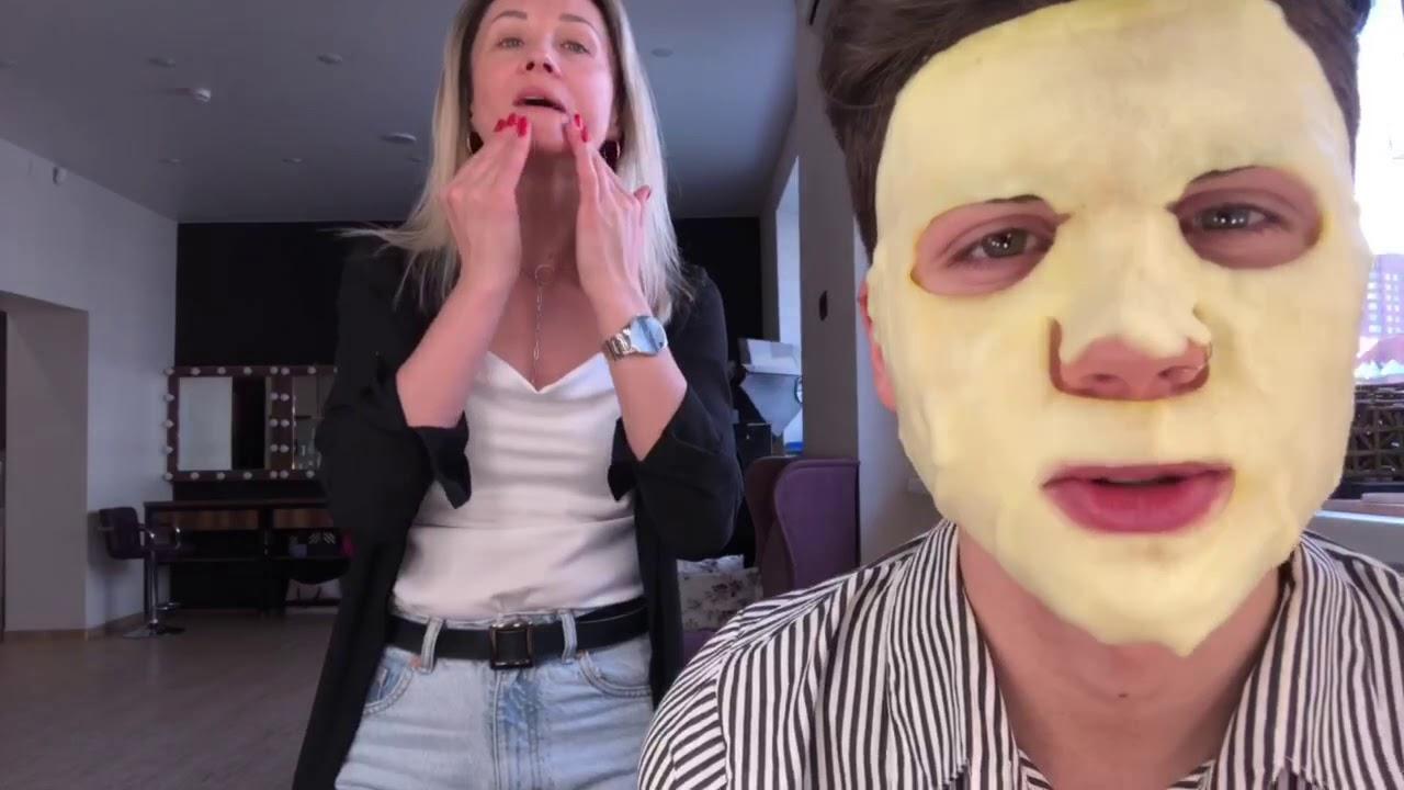 Визажист Андрей Сорокин рекомендует маски Skinlite