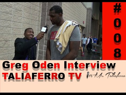 EP8: Miami Heat C Greg Oden Talks Losing In Finals Vs. Spurs, Lebron James Free Agent Decision