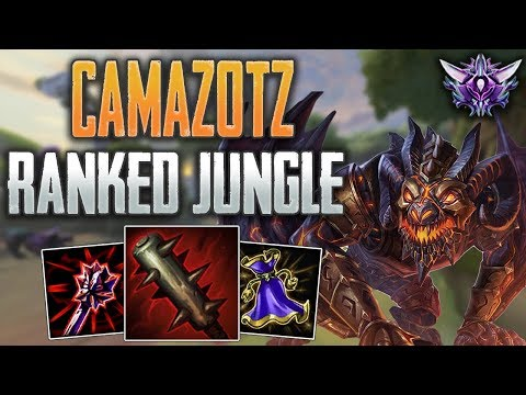 SMITE Ranked Conquest Masters  Camazotz Jungle  Playing From Behind!