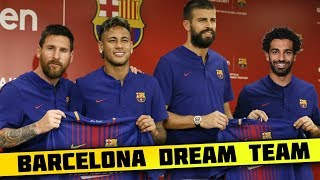 FC Barcelona DREAM Team Lineup 2018-19 With Potential TRANSFERS ft. Neymar Salah Griezmann Messi