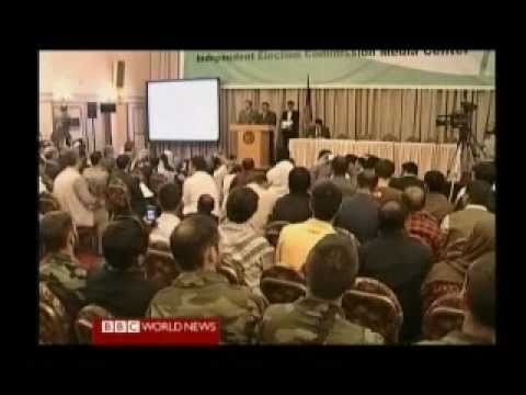 Afghanistan Election 2009 Review 5 of 6 - First Results - BBC News Reports