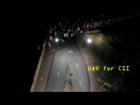 UAV mapping for Crime Scene Investigation