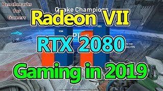 Radeon VII vs RTX 2080 Gaming in WQHD