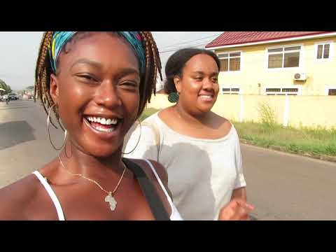 Ghana Study Abroad Vlog #3: East Legon Day (Uber, Charlotte Prive, Living Room, A&C Mall )