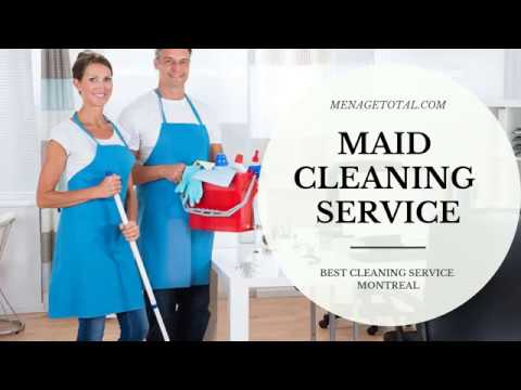 Montreal Cleaning Service - Menage Total