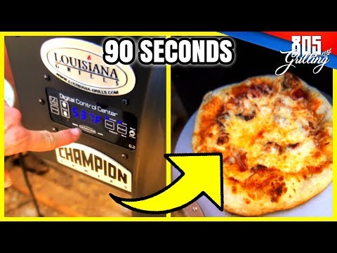 60 SECOND PIZZA DIY PELLET SMOKER OR BBQ