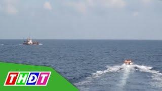Cà Mau liên tiếp phát hiện, bắt giữ buôn lậu dầu trên biển | THDT