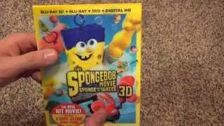 The SpongeBob Movie: Sponge Out Of Water 3D Blu-Ray Unboxing