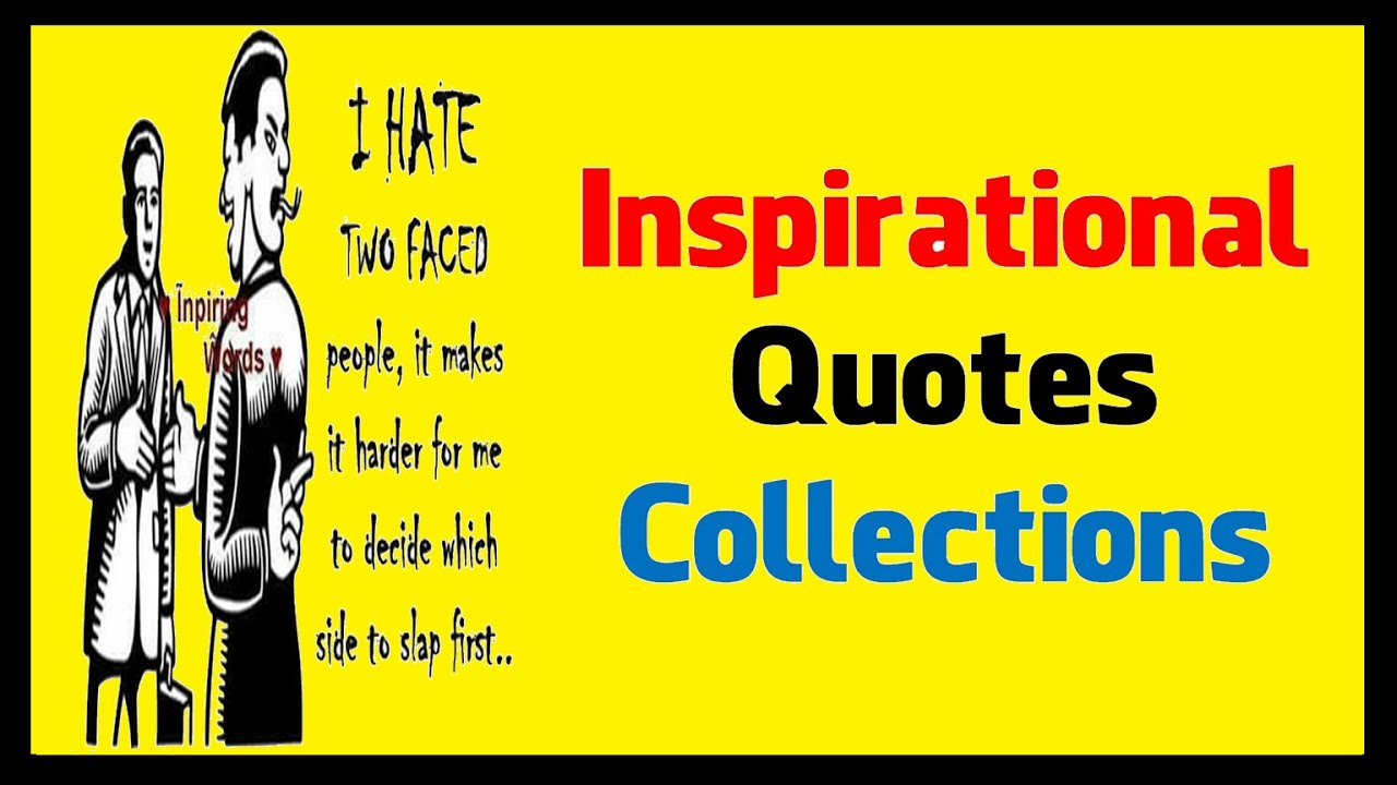 inspirational quotes collections youtube