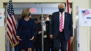 """Auch Donald geht wählen: """"Ich habe für einen Kerl namens Trump gestimmt"""""""