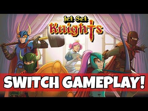Jet Set Knights Nintendo Switch Gameplay! |