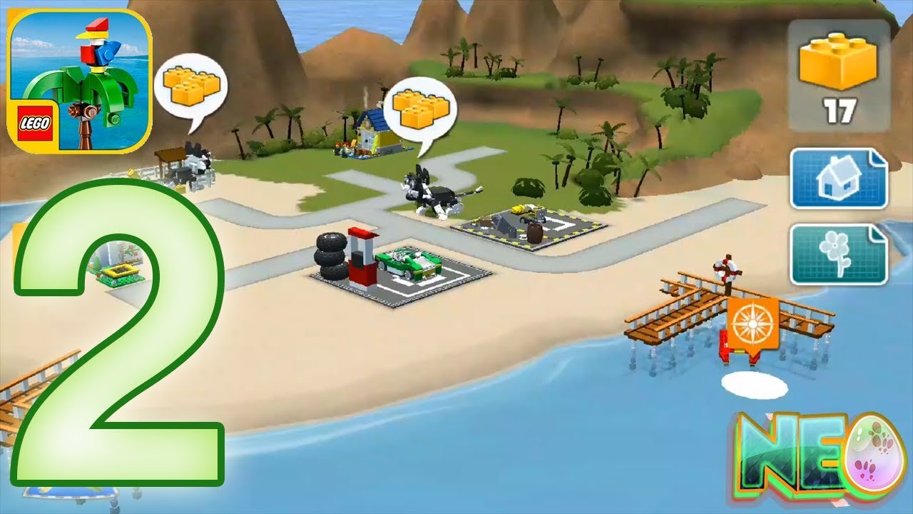 Lego Creator Islands Gameplay Walkthrough Part 2 New Island Ios