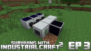 Surviving With IndustrialCraft 2 :: Ep.3 - The Miner