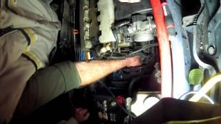 Peugeot 106 s16: Démonter le démarreur