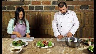 Shine&Food. Պրոֆեսիոնալ խոհարարի հետ աշխատելու հաճույքը. երկու աղցան՝ հաշված րոպեների ընթացքում
