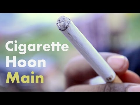 """""""Cigarette Hoon Main"""" a comedy Video Poetry"""