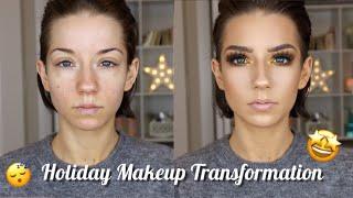 Holiday Makeup Transformation | GRWM