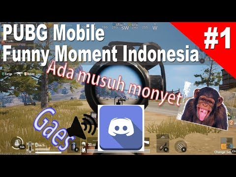 PUBG Mobile Indonesia Funny Moment #1 - (Funny Voice Chat Di